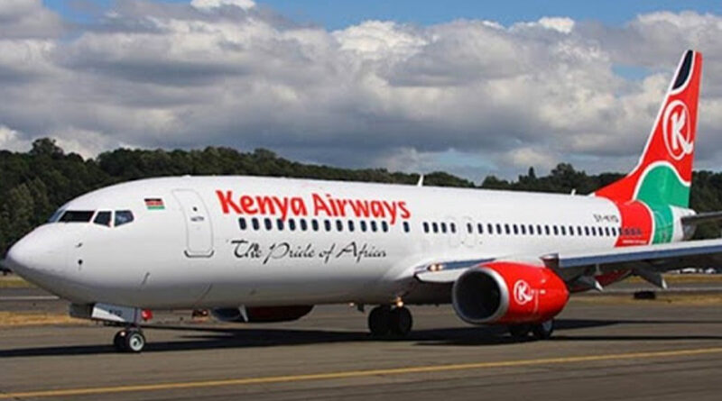 Kenya Airways flights to Somalia suspended