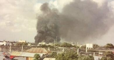 Somalia car bomb attack on army base