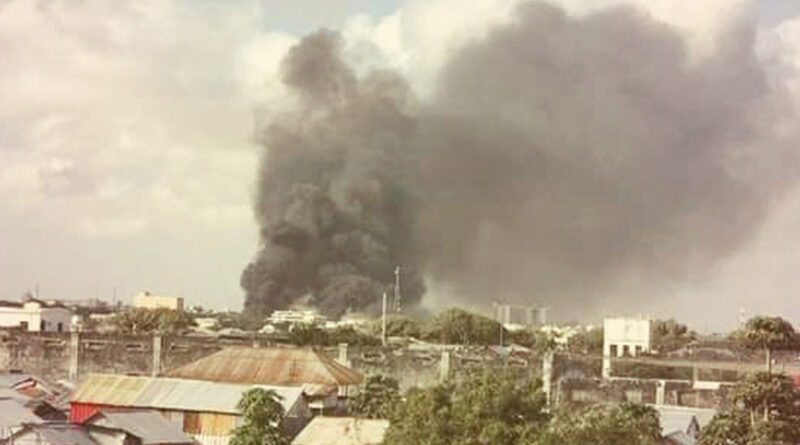 Somalia car bomb attack on army base