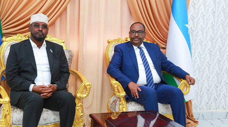 Puntland and Jubaland Leaders