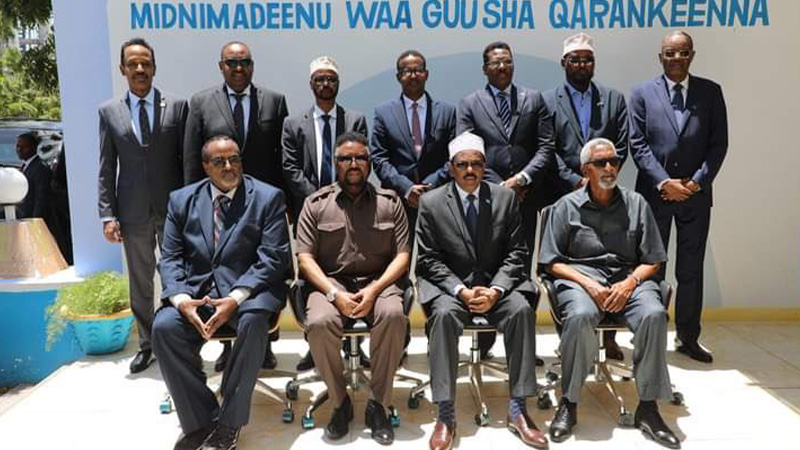 Somalia Announces End to Dispute between Houses of Parliament