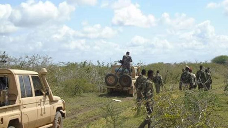 Four Somali Special Forces