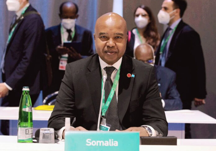 Somalia foreign minister