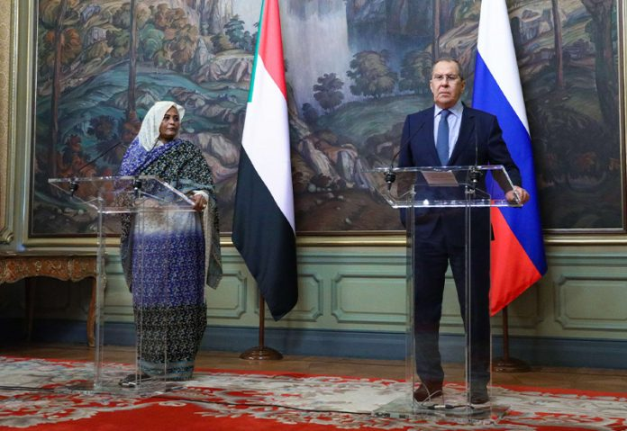 Sudan Russia foreign ministers