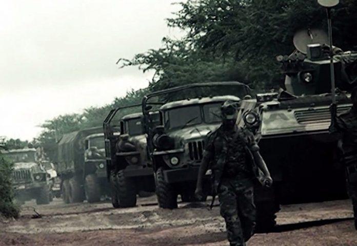 Ethiopia troops in Somalia