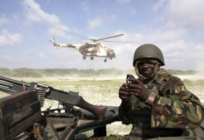 Kenya air strike in Somalia
