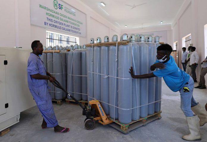 Somalia public oxygen plant