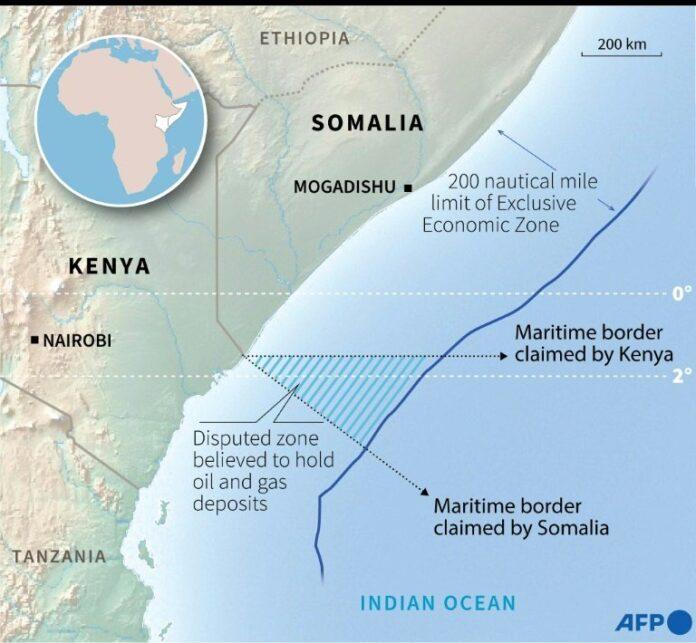 Kenya-Somalia sea border dispute