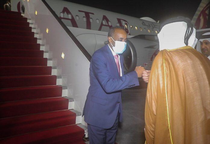Somalia PM arrives in Doha, Qatar