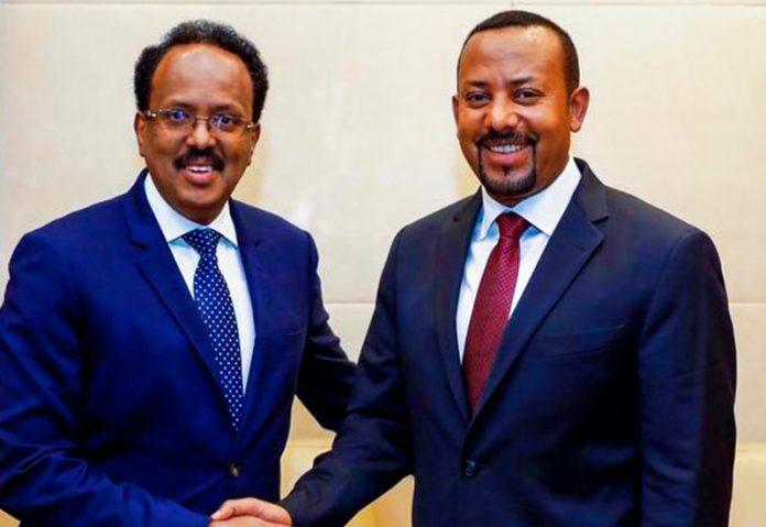 Somalia president Ethiopia PM